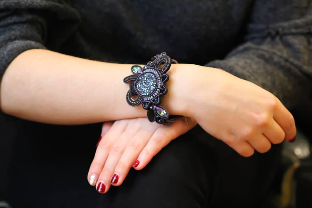 Bracelet passementerie - psyche-paris