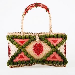 sac de luxe feuilles de palmes